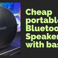 Bluetooth speaker review- it's cheap?!?