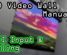 LED Walls: HDMI In & Scaling