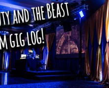 Gig Log: Beauty and the Beast Prom!