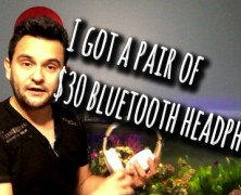 Cheap $30 bluetooth headphones… and they rock!