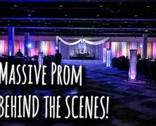 Massive prom rig – Behind the scenes!