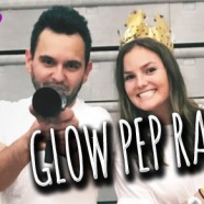 DID GIG LOG: Glow in the dark pep rally! | Lasers | Vlog | CO2 Club Cannon