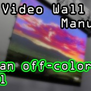 LED Wall: Correct an already-installed panel!