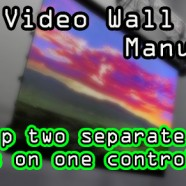 LED Wall Tutorials – Drive two LED walls with one controller!