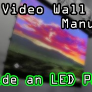 Inside an LED Video wall panel!